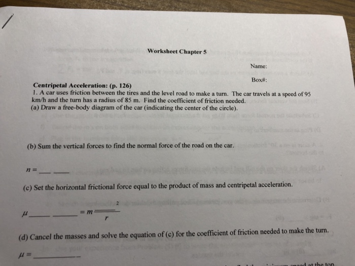 worksheets  Coefficient Of Friction Worksheet Answers Physics in addition  moreover Solved  Worksheet Chapter 5 Name  Box    Centripetal Accel further Coefficient Of Friction Worksheet Answers For Inspiring Coefficient further Coefficient of Ki ic Friction  Definition    Ex les besides Friction Worksheet 1 Physical Science Science   wiring design further  also Dictionary Types Of Friction Worksheet Middle Verb further New Page 1 also Friction and Inclines   Wyzant Resources additionally Free Worksheets Liry   Download and Print Worksheets   Free on additionally Friction Problems Worksheet   Answer these in your notebook together with Friction And Gravity Worksheet Answers Small Size Friction Gravity moreover Bill Nye Motion Worksheet Answers   Lobo Black additionally Types of friction worksheet   Download them and try to solve additionally Coefficient of Friction Using a Force Sensor and a Motion Sensor. on coefficient of friction worksheet answers