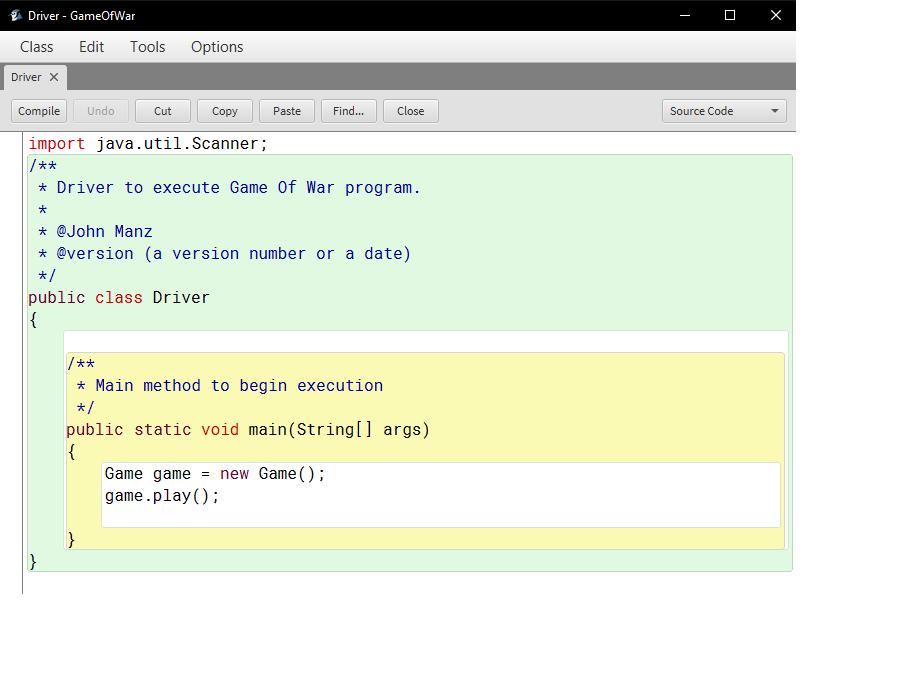 Solved: Java Programming Using BLUEJ Modify The Game Of Wa