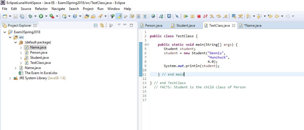 Solved: This Is For Java Programming 1  A  Student Is A Us