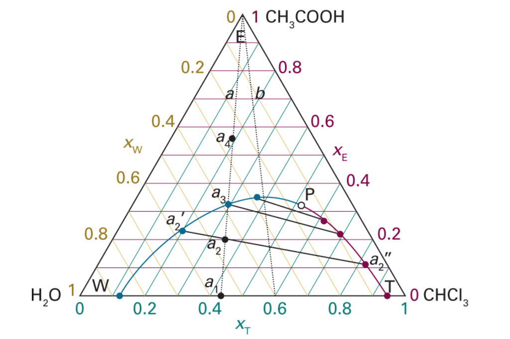 Three Phase Diagram