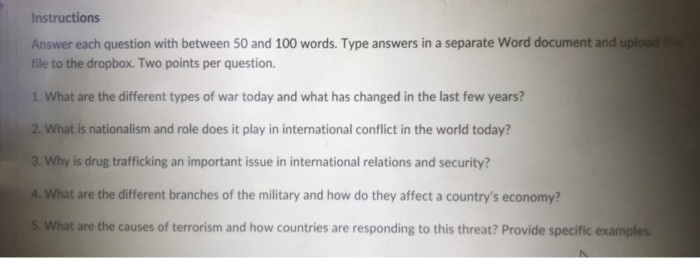 100 word paper
