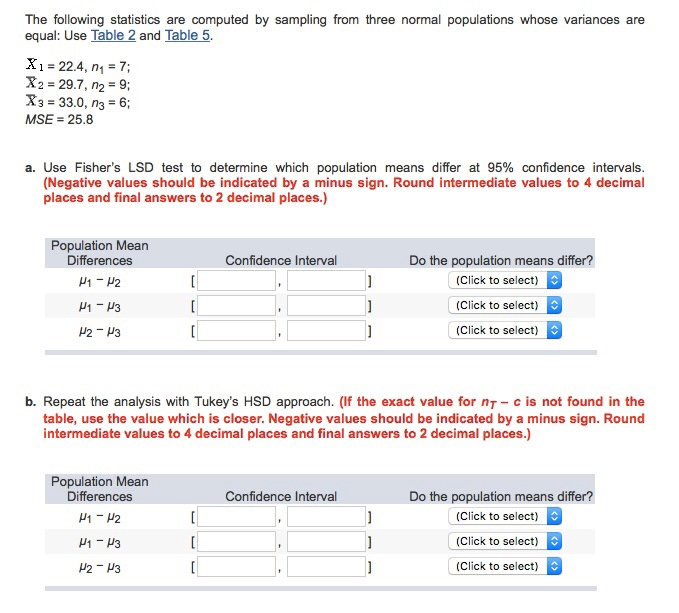 statistics variance and answer Practice questions for business statistics warning: this web page document is quite long and has many (intra)connecting links do not click on any links until the.