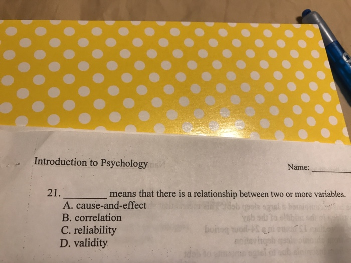cause and effect psychology