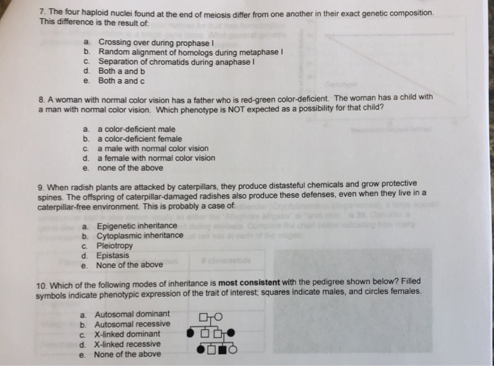 Solved: Please Help Me Answer These Multiple Choice Biolog