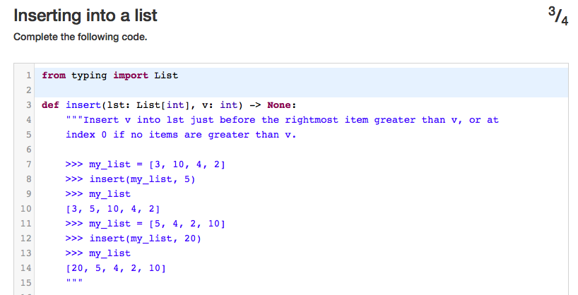 Solved: Python: Inserting A List I Tried To Do This With T