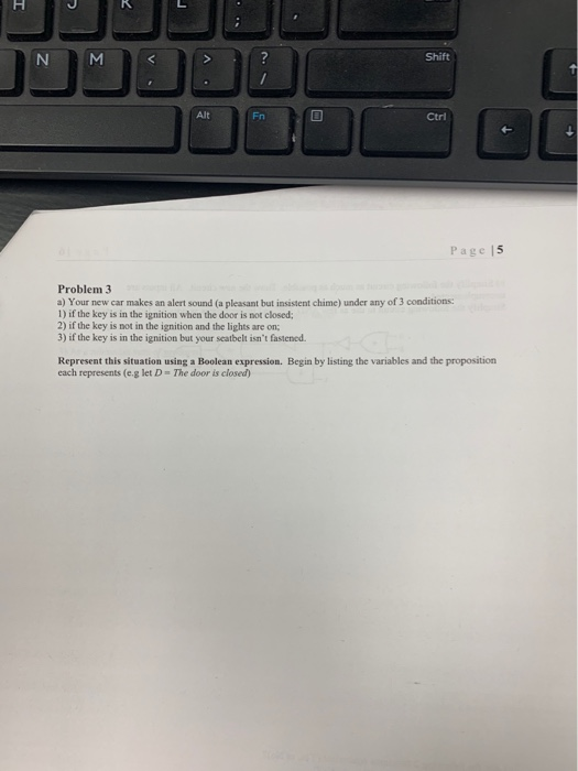 Solved: 7 Shift Alt Fn Ctri Page 15 Problem 3 A) Your New
