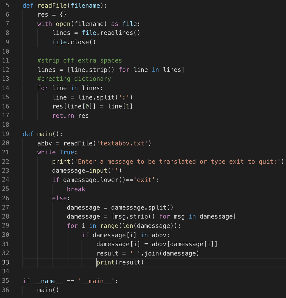Solved: I Have This Python Code    Its Suppose To Read A T