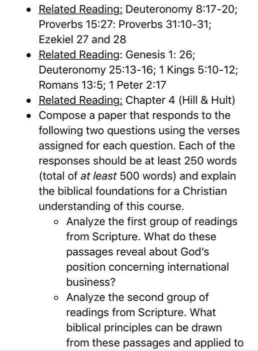 Related Reading: Deuteronomy 8:17-20