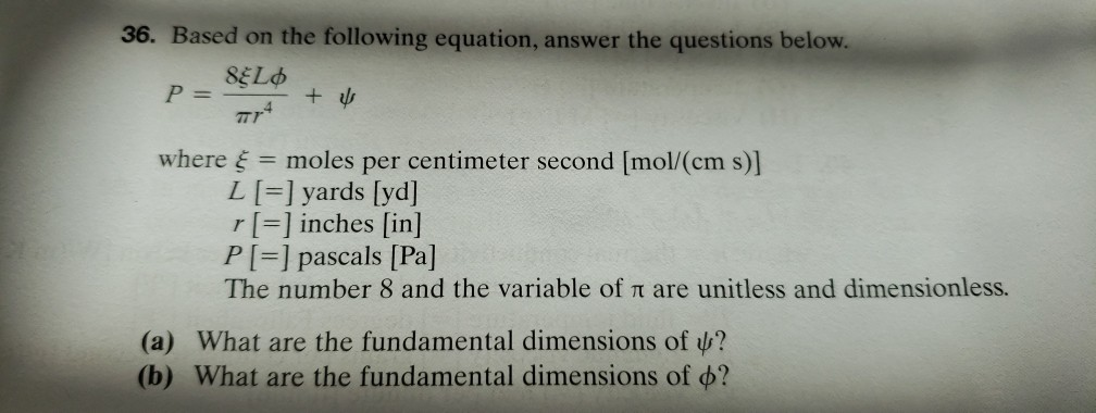 Based On The Following Equation Answer The Questions Below Where Moles Per