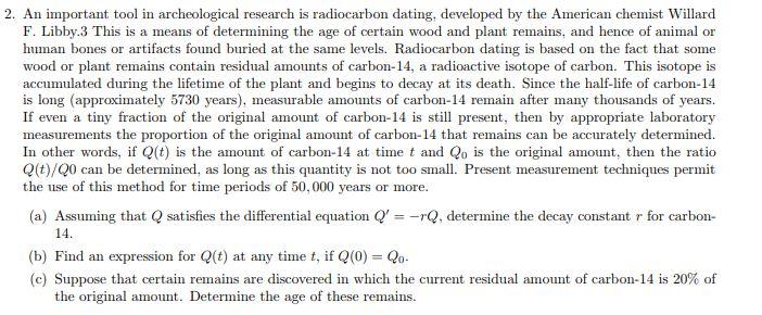 radiocarbon dating human remains