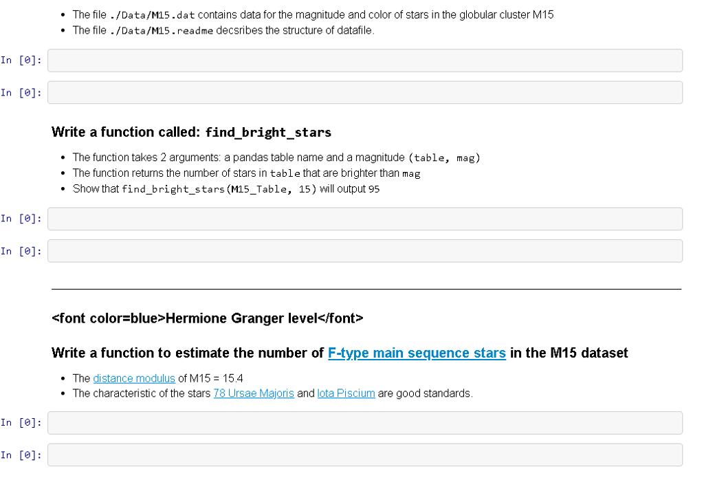 File M15 dat: Https://github com/UWashington-Astro    | Chegg com