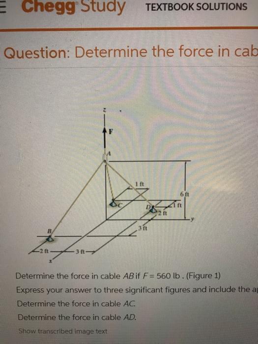 Solved: E Chegg Study TEXTBOOK SOLUTIONS Question: Determi