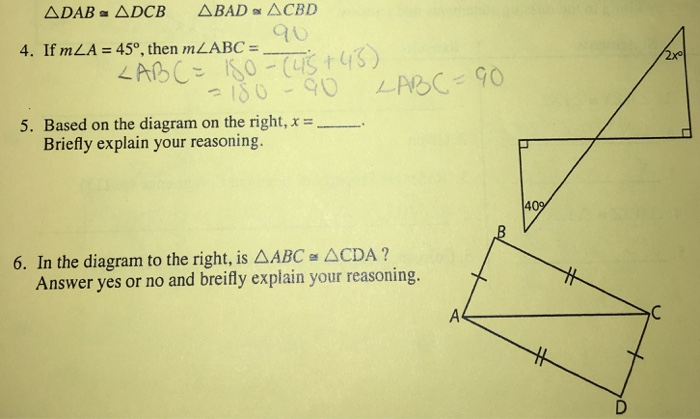 Solved if m a 45 degree then m abc based on the diag question if m a 45 degree then m abc based on the diagram on the right x briefly explai ccuart Gallery