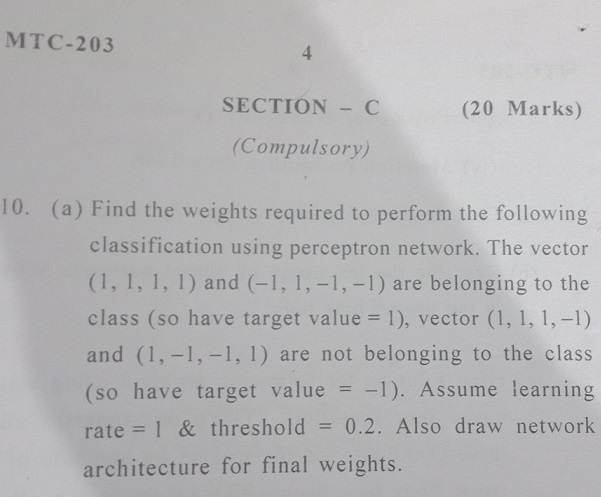 Please Explain Me The Neural Architecture For The