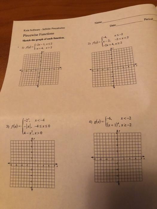 Solved: Name Period Kuta Software - Infinite Precaiculus P