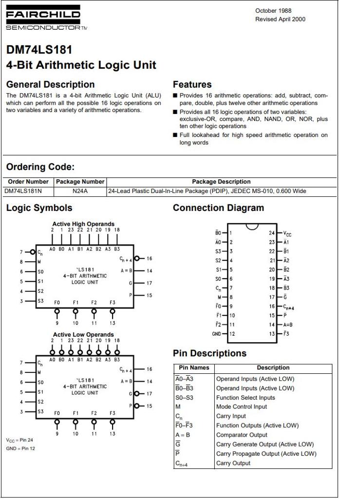 Solved: Designing A 5-bit Adder Using Chip 74181 To Perfor...   Chegg.comChegg