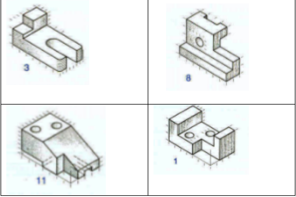 draw the top front and right view for each of the chegg com