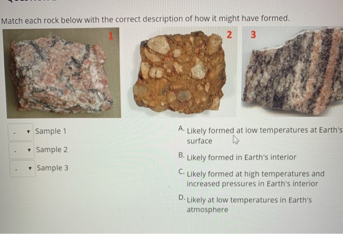 Solved Question 1 How Is A Rock Defined Choose All That Chegg Com