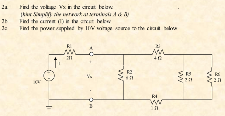 Solved: Using Falstad Circuit Simulator: Create 2 Circuits ... on