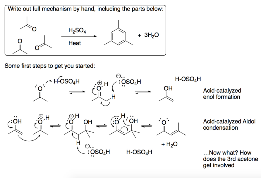 Solved Continue The Organic Chemistry Mechanism Below Ste