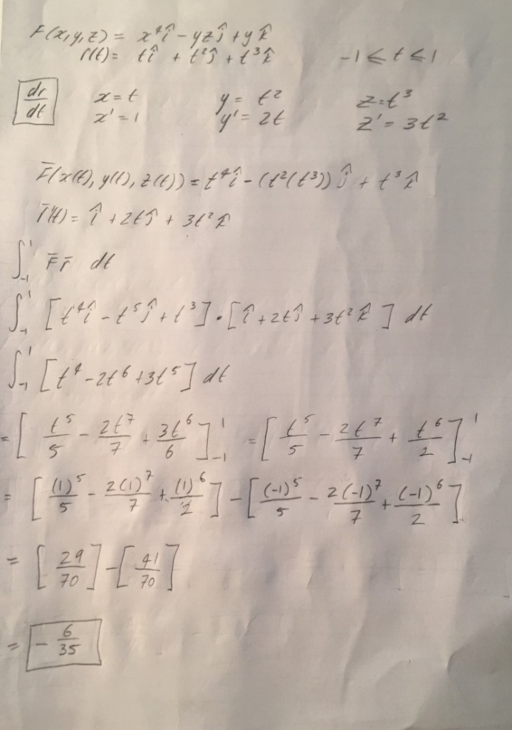 Solved: Could You Please Check My Worked Solution And See