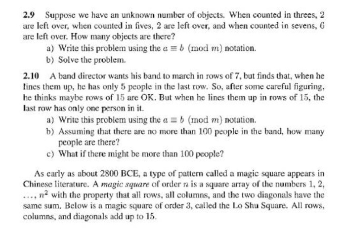 Solved: 2 9 Suppose We Have An Unknown Number Of Objects