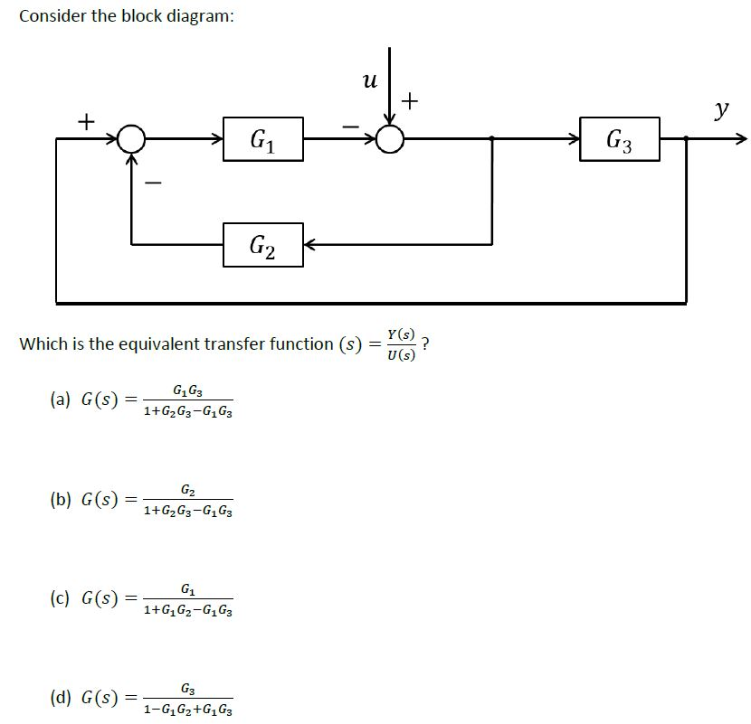 solved consider the block diagram yv 3 2 which is the equ rh chegg com