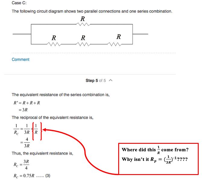 solved case c the following circuit diagram shows two par