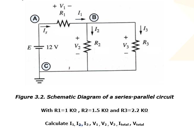 solved 2 r2 v e 12 v figure 3 2 schematic diagram of a rh chegg com circuit diagrams ks2 worksheet