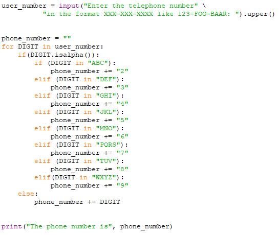 Solved: Alphabetic Telephone Number Translator Hi, I've Go