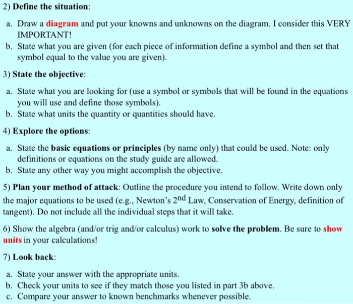 Solved: Solve The Problem By Following The Steps On The Se ...