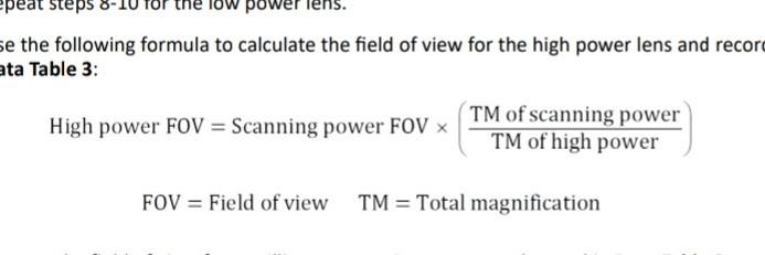 Peat Steps -10 For The Tow Power Lens E The Follow    | Chegg com