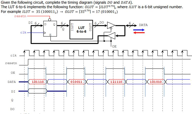 350 clk electrical wiring diagram solved given the following circuit  complete the timing d  given the following circuit  complete