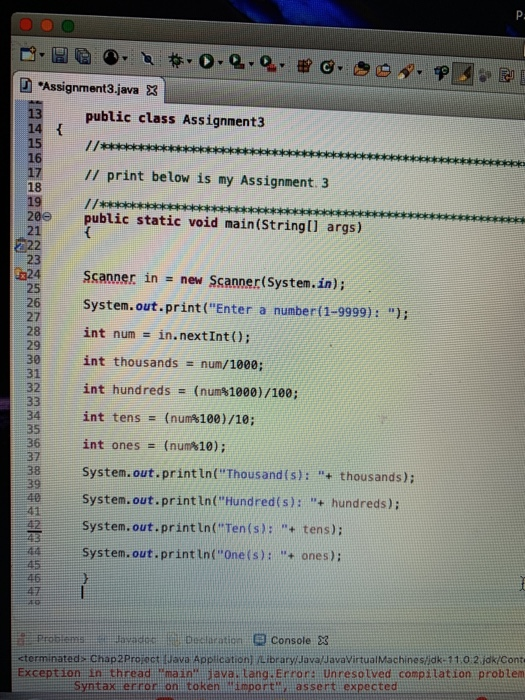 Solved: Need Help With This Java Code Trying To Input It I