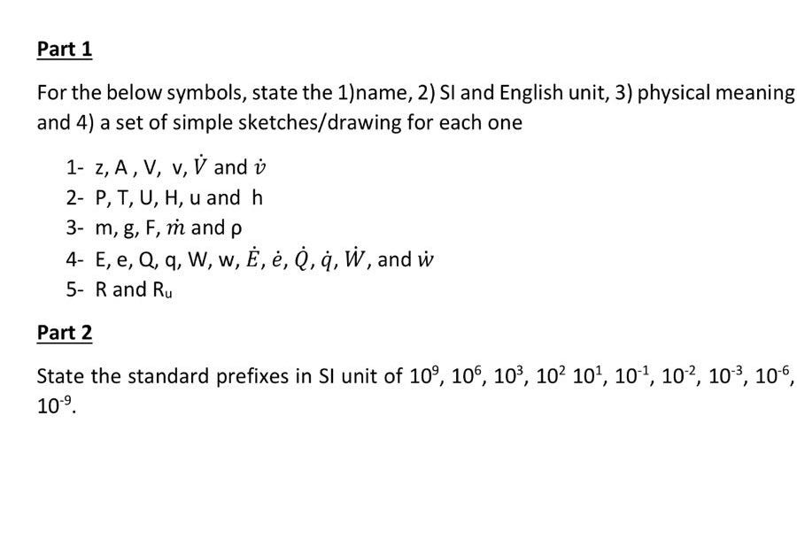 Solved: Part 1 For The Below Symbols, State The 1)name, 2