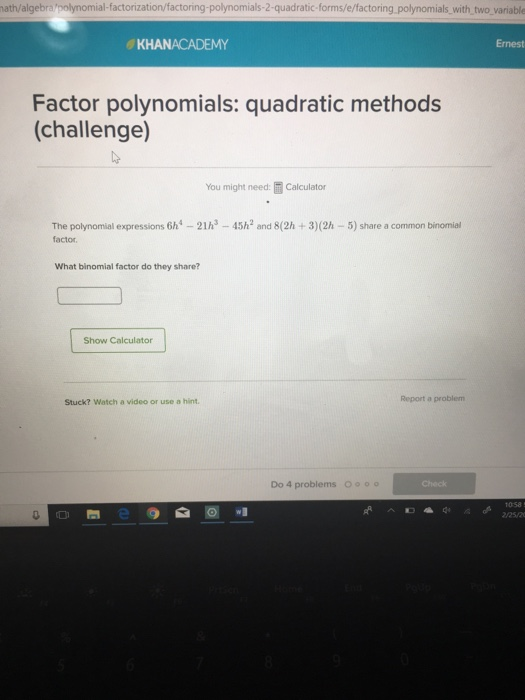 Factor calculator symbolab.