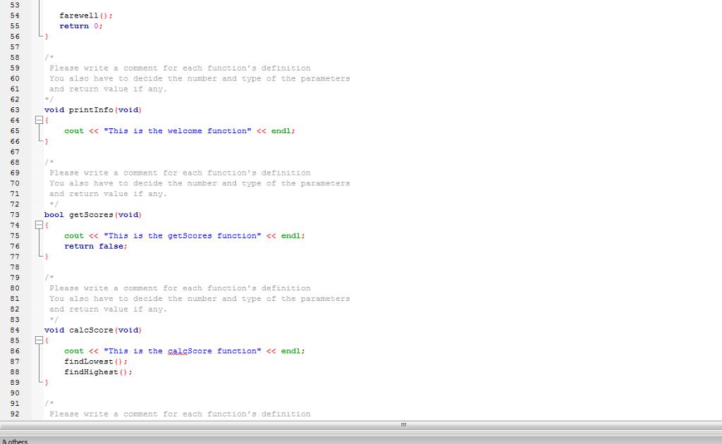 Solved C Program Plz Write In Formal Indentation And F
