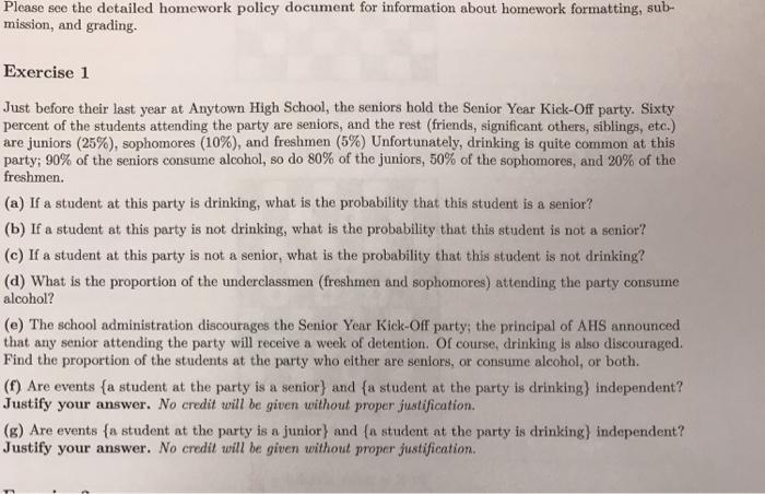 high school homework policy