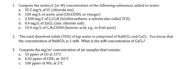 the molar concentration of acetic acid in a sample of vinegar
