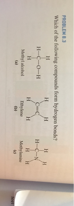 Solved: PROBLEM 8 3 Which Of The Following Compounds Form