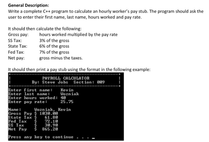 C program to calculate tax