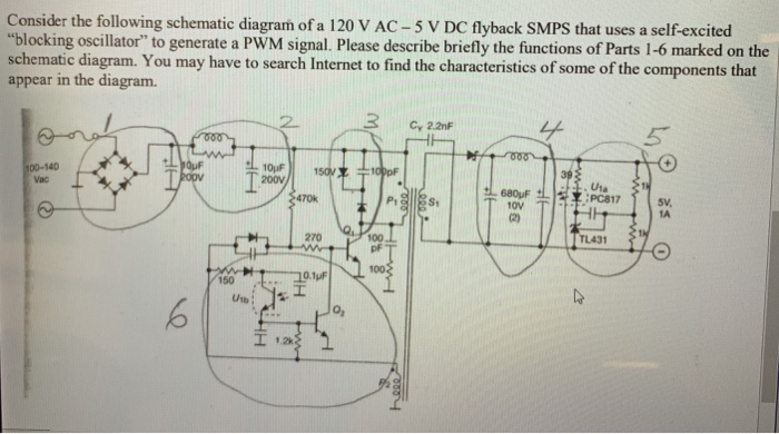 Solved: Consider The Following Schematic Diagram Of A 120