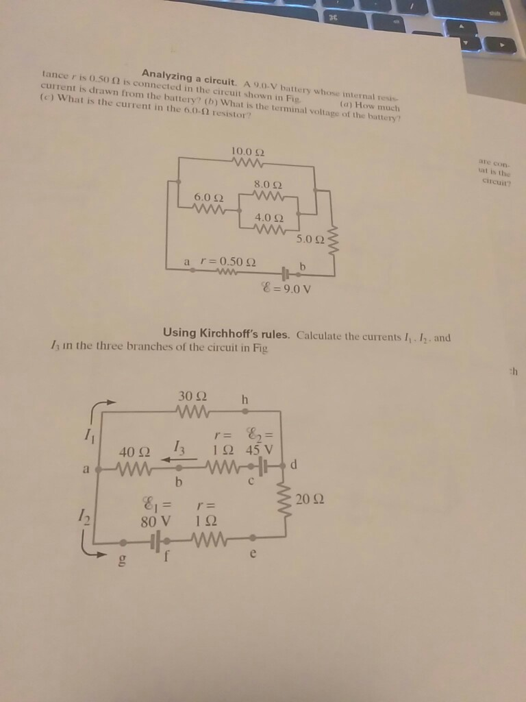Solved V 240 Ii R1 R2 Circuit With Series And Paralle Schematic Parallel Resistors How Much Media2f6242f624524b6 69ea 4413 8a31 3d