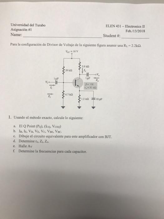 Circuito Rl : Circuitos rl fisica
