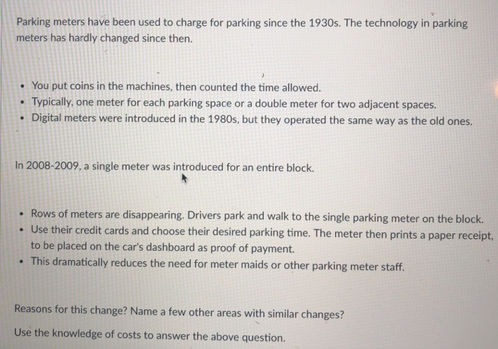 23c8a0cc97c Parking meters have been used to charge for parking since the 1930s. The  technology in