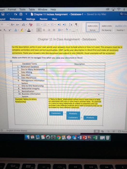 Solved: Sert Format Tools Table Window Help 日   O  Θ- Cha