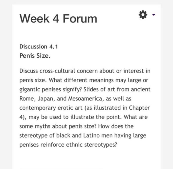 despre forumul penisului