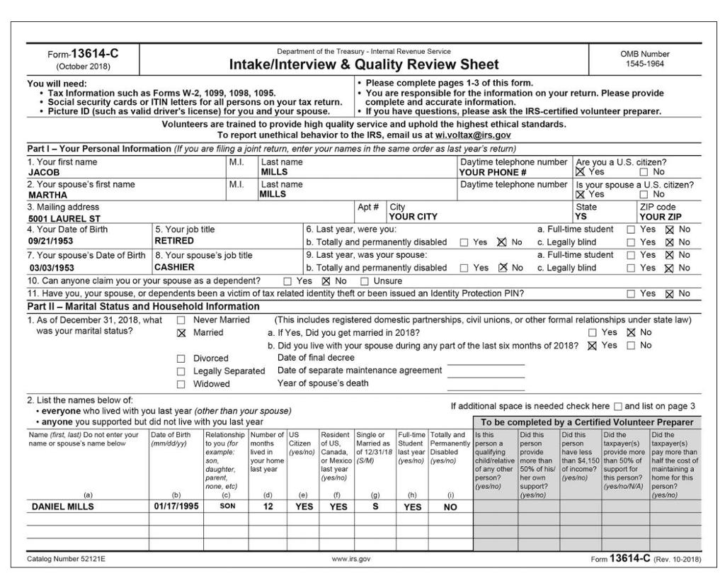 revenue canada income tax questions