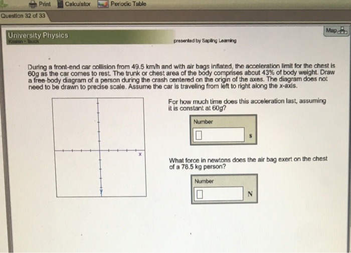 Solved Printcalculator Periodic Table Question 32 Of 33 M