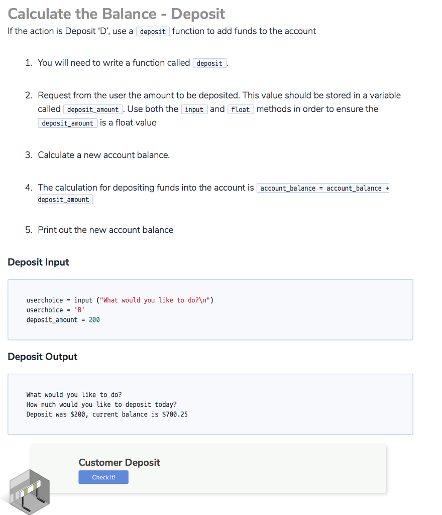 Solved: Project 3 Draft: ATM Introduction Your Task For Th